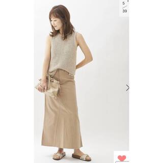 プラージュ(Plage)のPlage  Healthy denim  SP LONG SLITスカート36(ロングスカート)