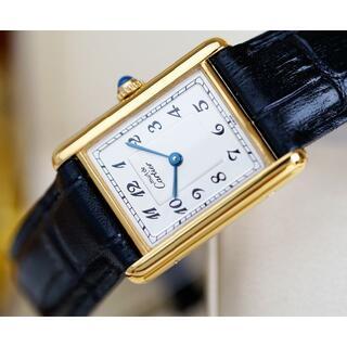 Cartier - 美品 カルティエ マスト タンク アラビア LM Cartier
