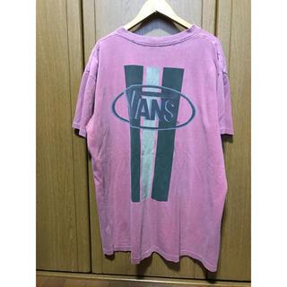 ヴァンズ(VANS)のバンズ VANS Tシャツ バックロゴ 90s (Tシャツ/カットソー(半袖/袖なし))