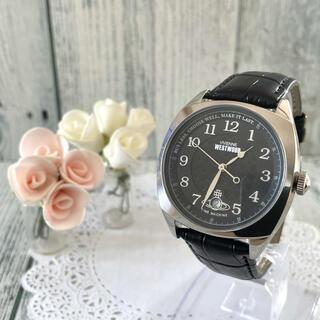 ヴィヴィアンウエストウッド(Vivienne Westwood)の【希少】vivienne ヴィヴィアン 腕時計 VV175SLBK ブラック(腕時計(アナログ))