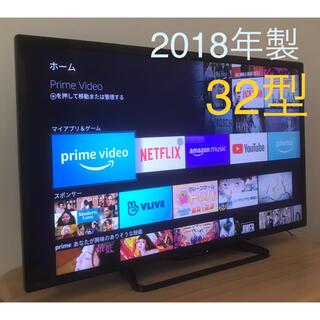 SHARP - 2018年製 シャープ 32型 液晶テレビ、Fire TV Stick おまけ