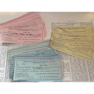 海外ヴィンテージ紙モノ 5枚(印刷物)