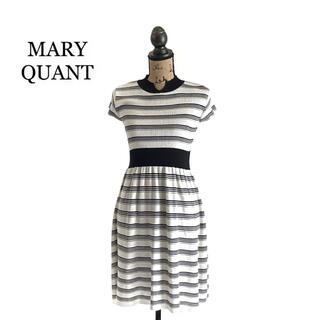 マリークワント(MARY QUANT)のMARY QUANT マリークワント ワンピース ニットワンピース(ひざ丈ワンピース)