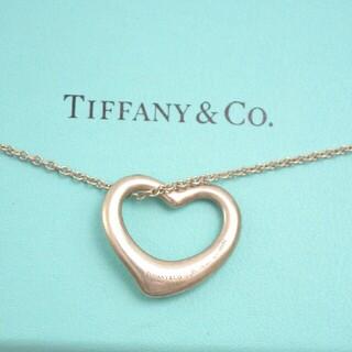 Tiffany & Co. - 【大人気】ティファニー オープンハート ネックレス シルバー925