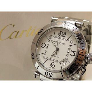 カルティエ(Cartier)のカルティエ 時計 ■ パシャ シータイマー W31080M7 40mm(腕時計(アナログ))