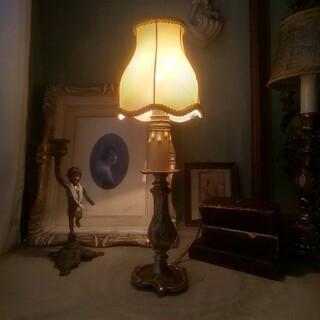 フランス、テーブルランプ、ライト、卓上ランプ、ヴィンテージ、アンティーク
