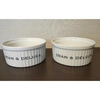 DEAN & DELUCA - 未使用 ディーン & デルーカ ココット LL 2個セット ボウル DEAN