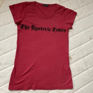 ヒステリックグラマー(HYSTERIC GLAMOUR)のHysteric glamour トップス(Tシャツ(半袖/袖なし))