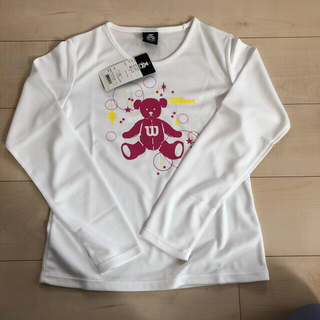 ウィルソン(wilson)の新品⭐︎ウィルソン 長袖Tシャツ(ウェア)
