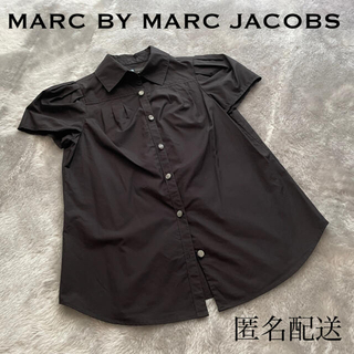 マークバイマークジェイコブス(MARC BY MARC JACOBS)のMARC BY MARC JACOBS 黒色シャツ (シャツ/ブラウス(半袖/袖なし))