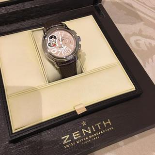 ゼニス(ZENITH)のSALE❗️ゼニス スターオープン クロノマスター (腕時計)