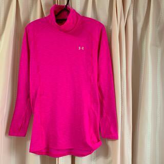 アンダーアーマー(UNDER ARMOUR)のアンダーアーマーのピンクシャツ(Tシャツ(長袖/七分))