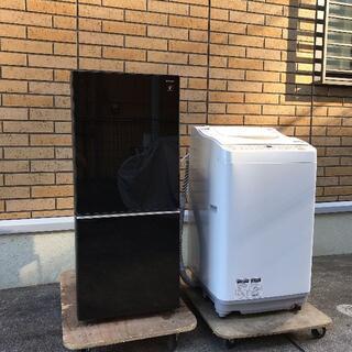 SHARP - 美品高年式  SHARP シャープ 冷蔵庫・洗濯乾燥機洗濯機・ 家電セット