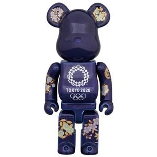 メディコムトイ(MEDICOM TOY)の有田焼 ベアブリック 400% (東京 2020 オリンピックエンブレム)(その他)