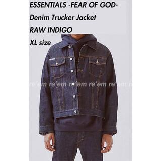 FEAR OF GOD - ESSENTIALS 2018 Denim Trucker Jacket XL
