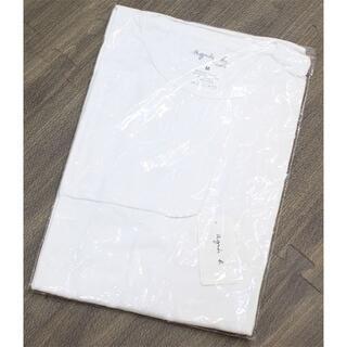 アニエスベー(agnes b.)のフランス製 未使用 アニエスベー ロンT 長袖 タグ付き 白 M L XL(Tシャツ(長袖/七分))