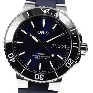 オリス(ORIS)のオリス アクイス 01 752 7733 4135 メンズ 【中古】(腕時計(アナログ))
