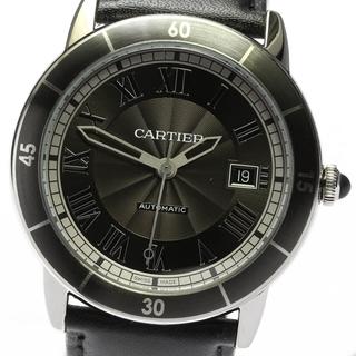 カルティエ(Cartier)の☆良品 カルティエ ロンド クロワジエール ドゥ カルティエ メンズ 【中古】(腕時計(アナログ))