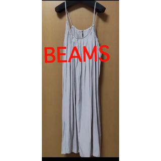 ビームス(BEAMS)のBEAMS キャミワンピ(ロングワンピース/マキシワンピース)