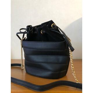 MANGO - MANGOマンゴのショルダーバッグ(未使用品)黒