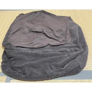MUJI (無印良品) - 体にフィットするソファー ミニ カバー グレー 冬素材
