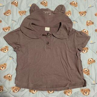 フタフタ(futafuta)のテータテート ネコ Tシャツ(Tシャツ)