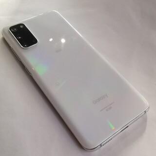 SAMSUNG - Galaxy S20 5G クラウドホワイト 128 GB au SIMフリー