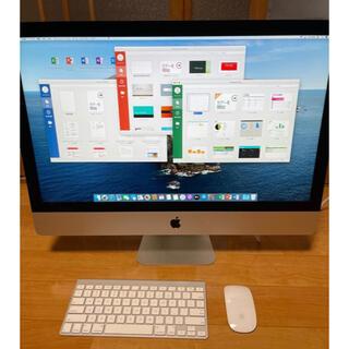 Mac (Apple) - iMac 27インチ 美品(office 2019)