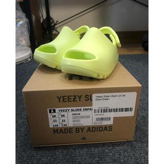 adidas - YEEZY SLIDE INFANT GLOW GREEN 14cm