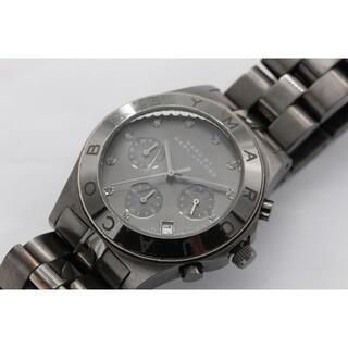 マークバイマークジェイコブス(MARC BY MARC JACOBS)のマークバイマークジェイコブス  クロノグラフ 電池交換8済(U01138)(腕時計(アナログ))