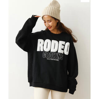 RODEO CROWNS WIDE BOWL - 完売品❗️【RODEO CROWNS WIDE BOWL】新品★訳ありトレーナー