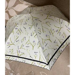 ランバンコレクション(LANVIN COLLECTION)の新品未使用ランバン パラソル雨天兼用 折り畳み遮光遮熱99%(傘)