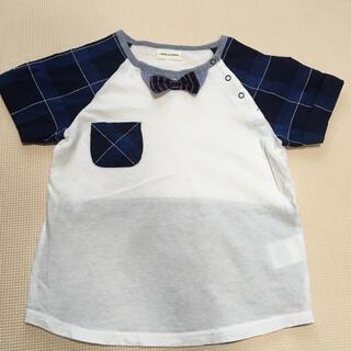 センスオブワンダー(sense of wonder)のセンスオブワンダー*蝶ネクタイ付きTシャツ 110(Tシャツ/カットソー)