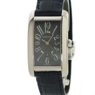 カルティエ(Cartier)のカルティエ  タンクアメリカン LM W2605229 自動巻き メンズ(腕時計(アナログ))