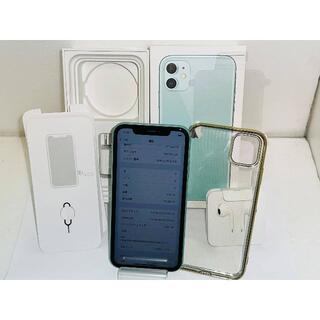 NTTdocomo - SIMフリー 超美品 docomo iPhone11 128GB〇判定 送料無料