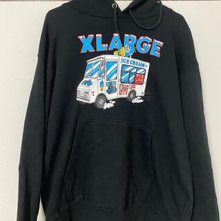 XLARGE - XLARGE パーカー アイスクリーム 最終値下げ