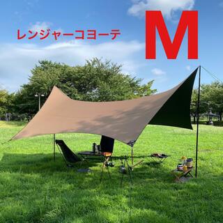 ザノースフェイス(THE NORTH FACE)の新品 Mac One マックワン ヘキサタープ レンジャーコヨーテ M(テント/タープ)