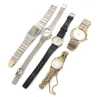 アザー(other)のセイコー ELGIN 腕時計 5点セット まとめ売り アナログ ジャンクあり(腕時計)