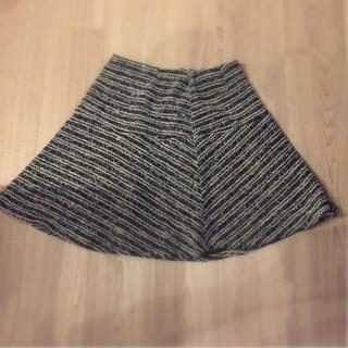 ビームス(BEAMS)のビームス 上品 ツイード スカート(ひざ丈スカート)