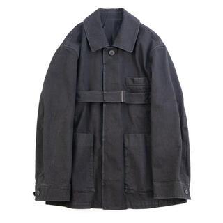 SUNSEA - stein 21aw Oversized Belted Denim Jacket