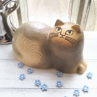 Lisa Larson - 新品 ◆ リサラーソン 猫 マイ Maj グレー Lisa Larson 北欧