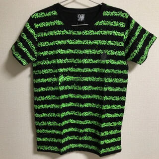 バンダイ(BANDAI)のジョジョの奇妙な冒険 オラオラボーダーT Sサイズ 新品未使用(Tシャツ/カットソー(半袖/袖なし))