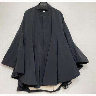 ダブルスタンダードクロージング(DOUBLE STANDARD CLOTHING)の極美品ダブルスタンダードクロージング 人気マント(ノーカラージャケット)