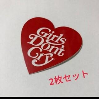 ジーディーシー(GDC)の※確実正規品※GirlsDon'tCry ステッカー2枚セット(その他)
