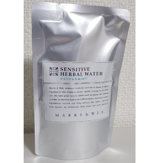 マークスアンドウェブ(MARKS&WEB)のMARKS&WEB センシティブ ペパーミント 詰替200ml 化粧水(化粧水/ローション)