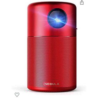 ボーズ(BOSE)の【新品未開封】Anker Nebula Capsule 小型プロジェクター 赤(プロジェクター)