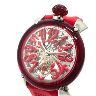 GaGa MILANO - ガガミラノ 6090.02 スモールセコンド マヌアーレ48 手巻き 腕時計