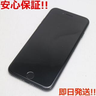 アイフォーン(iPhone)の良品中古 SIMフリー iPhone7 256GB ジェットブラック (スマートフォン本体)