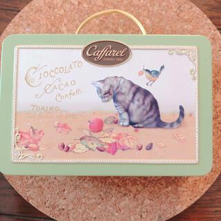 ディーンアンドデルーカ(DEAN & DELUCA)の☆カファレル  クラシック猫缶カーキ(小物入れ)
