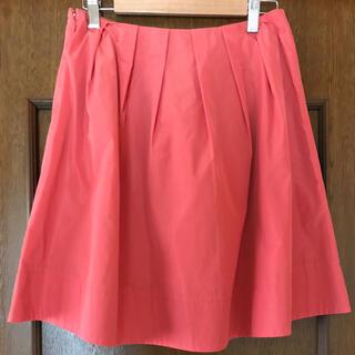 アクアガール(aquagirl)のタックタフタスカート(ひざ丈スカート)